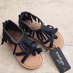 Bebe girls sandals!